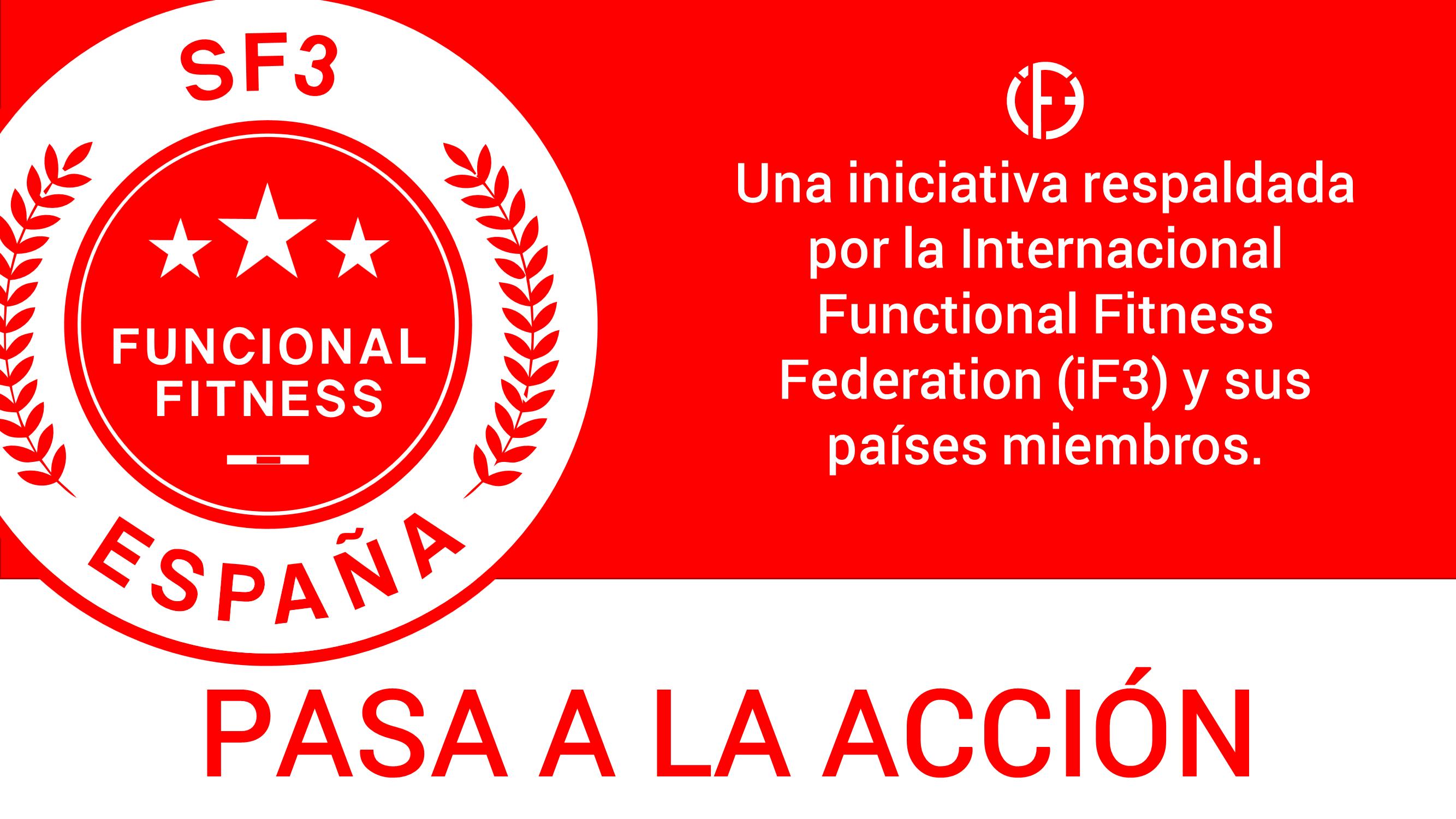 Somos la SF3, Entidad Española del Functional Fitness